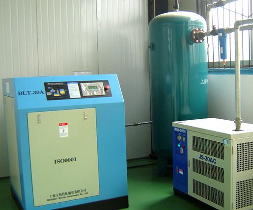 新马制药装备空压机系统方案