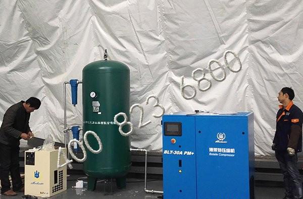 上海申江储气罐应用于深圳市医药行业
